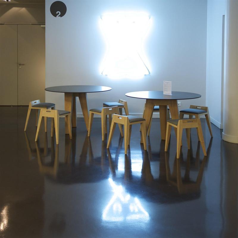 Group 0 Industrial Tiles Milar Suggested Size 28x42, Smooth-Matte, Dark Brown, Porcelain, Tile