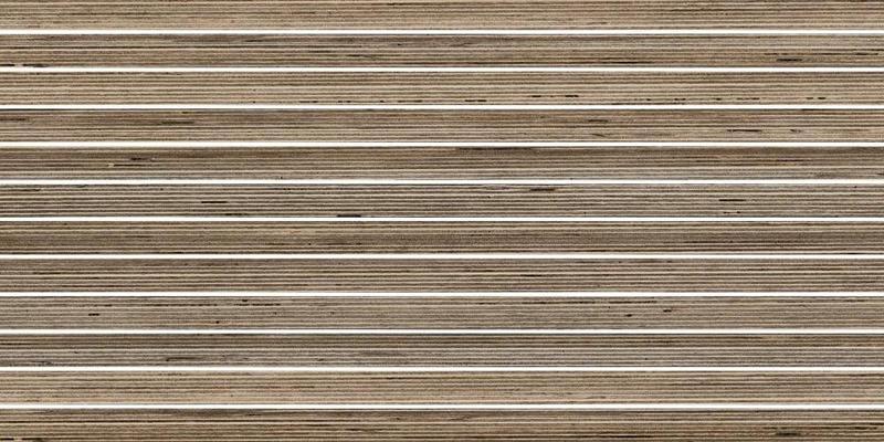 Shibusa Tortora 1x24 Straight Stacked Textured Porcelain  Mosaic