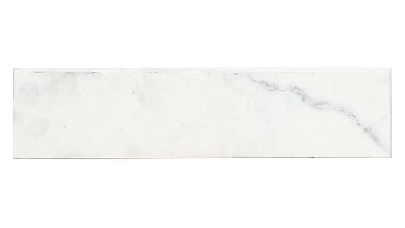 Classic Statuarietto Polished 3x12 Color Body Porcelain Bullnose (Special Order)