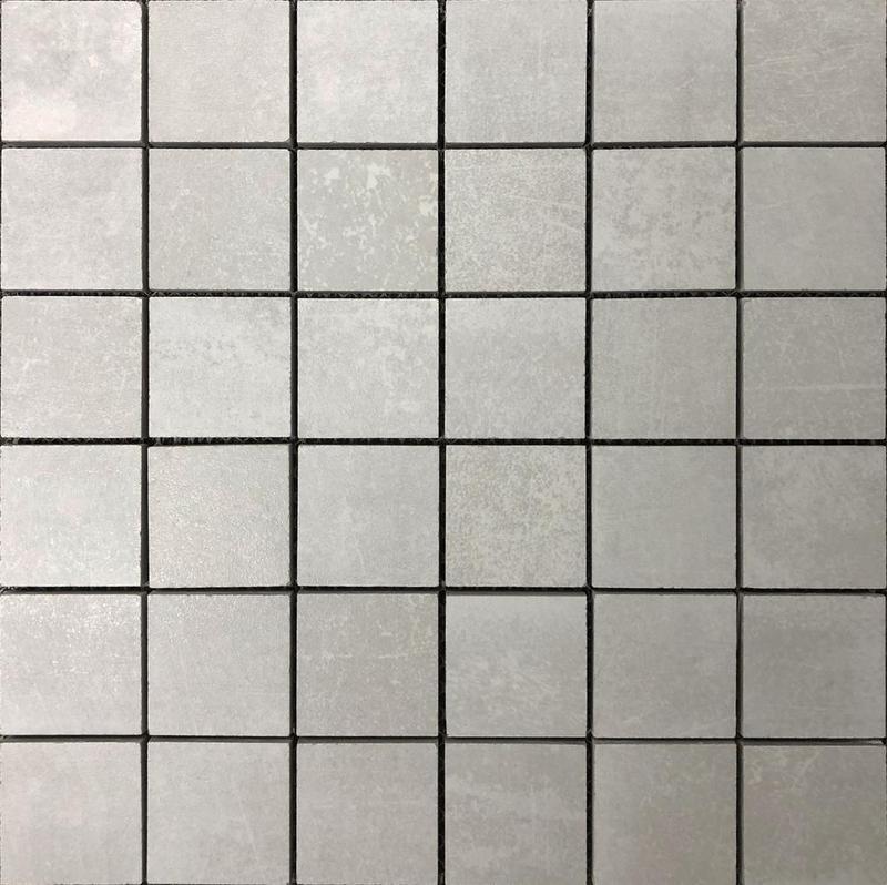 Shine White 2x2 Square Matte Porcelain  Mosaic