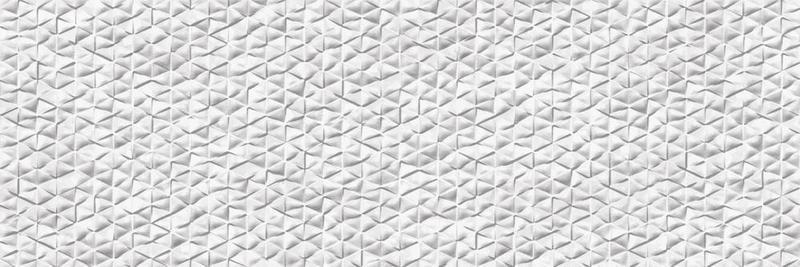 Tri Arc Blanc Glazed, Glossy, Textured 12x36 Ceramic  Tile