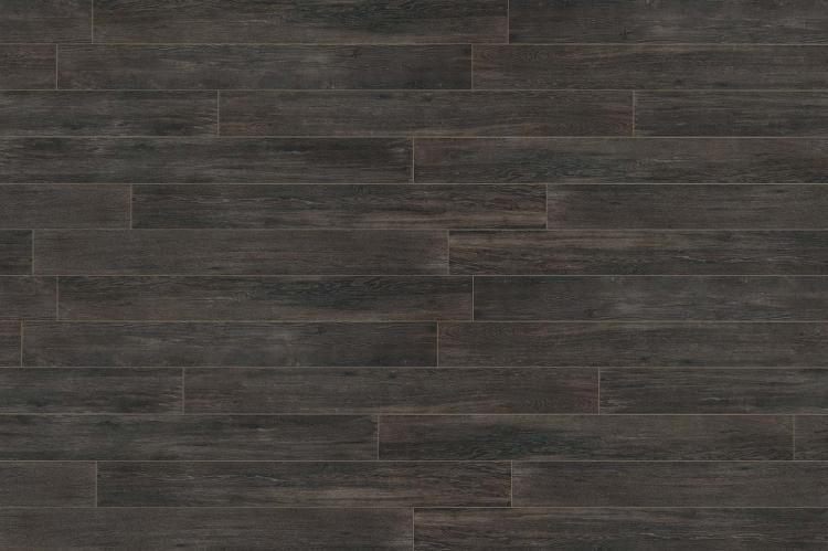 Selection Oak Black Grip Matte, Glazed 6x36 Porcelain  Tile
