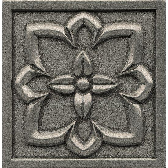 Ambiance Romanesque Pewter Glossy 4x4 Resin  Trim