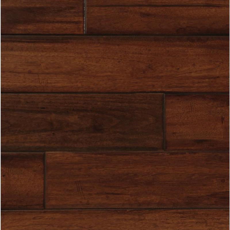 Exotics Manchurian Walnut 4.75xfree length, Hand-Scraped, Solid, Hardwood, Wood, (Discontinued)