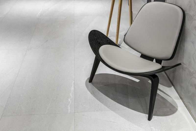 Grant Silver Matte 12x24 Porcelain  Tile