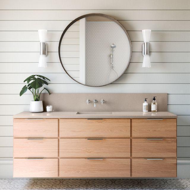 Luxury Baybridge 65.5x132, 3 cm, Polished, Gray, Quartz, Slab