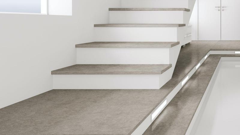 Group 0 Natural Collection Vegha Standard Size 57x126, 12 mm, Smooth Matte, Gray, Porcelain, Slab