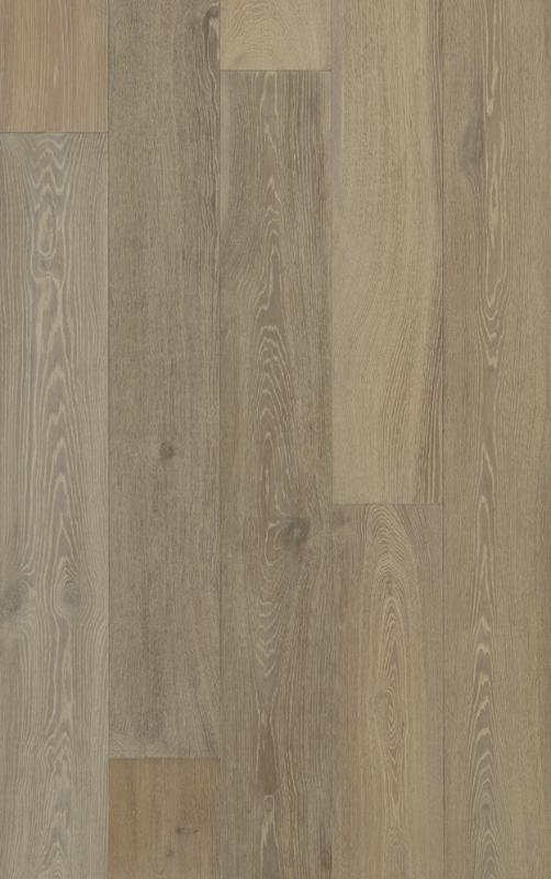 Seneca Valley Collection Gaithersburg 90 in, Wire-Brushed, Gray, European-Oak, Engineered-Wood, Trim