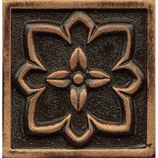 Ambiance Romanesque Venetian Bronze Glossy 2x2 Resin  Trim