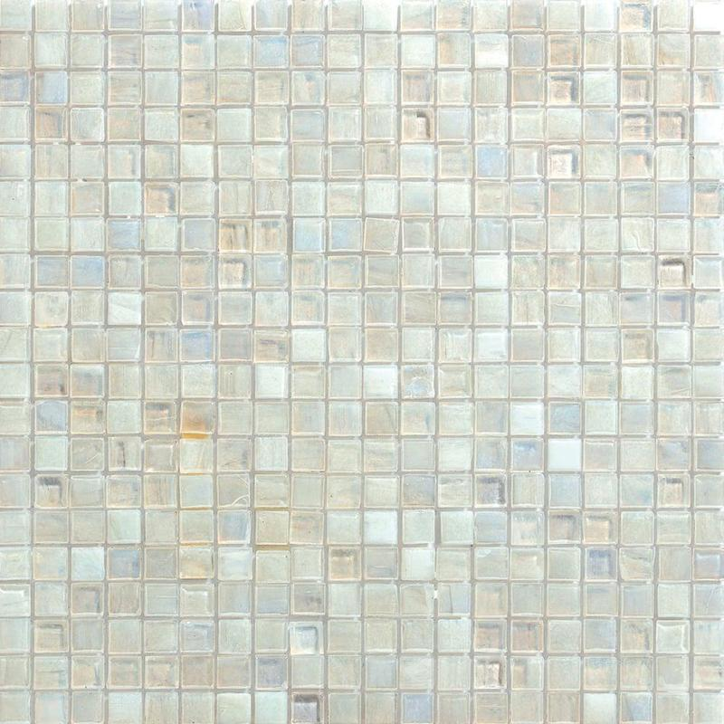 Shimmer Glass Pearl 0.56x0.56 Square Glossy   Mosaic (Discontinued)