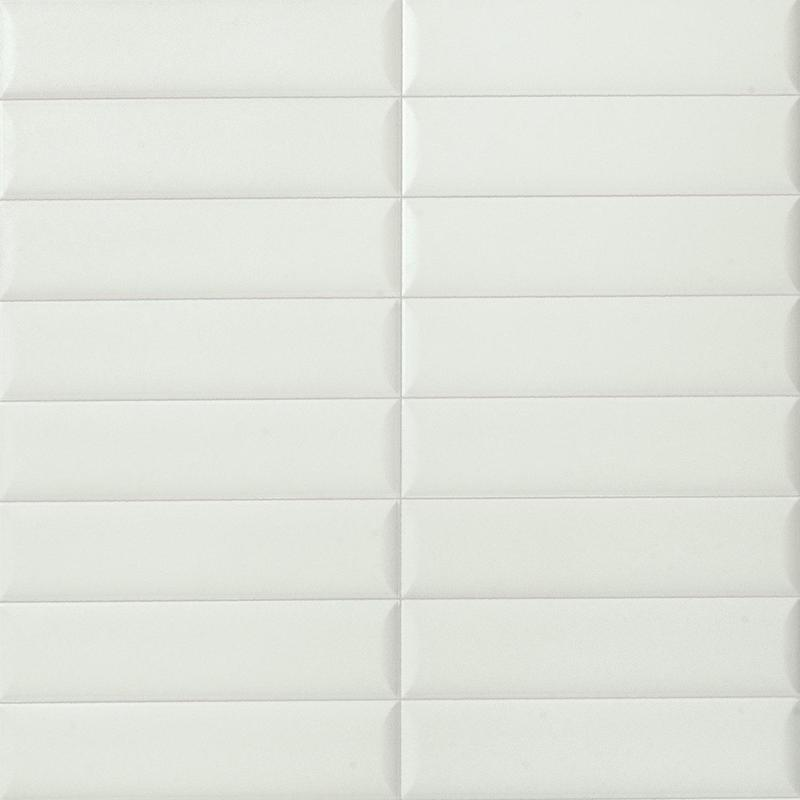 Marca Corona Regoli Bianco Wide 3x12 Porcelain  Tile
