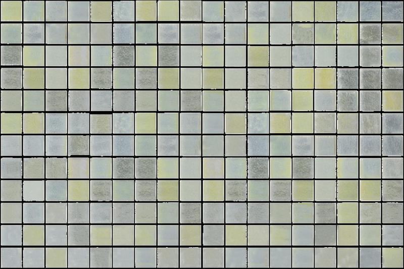 Onix Opalescent Claro Verde 1x1 Square  Glass  Mosaic
