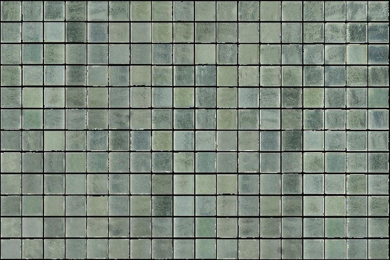 Onix Opalescent Verde 1x1 Square  Glass  Mosaic