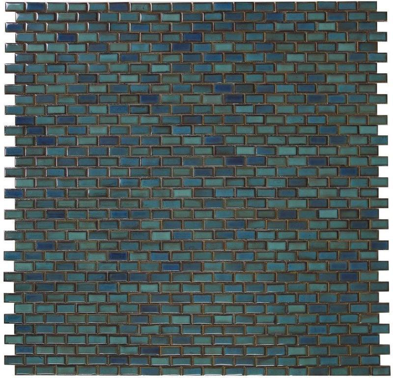 Hulu Brick Aquos Porcelain  Mosaic