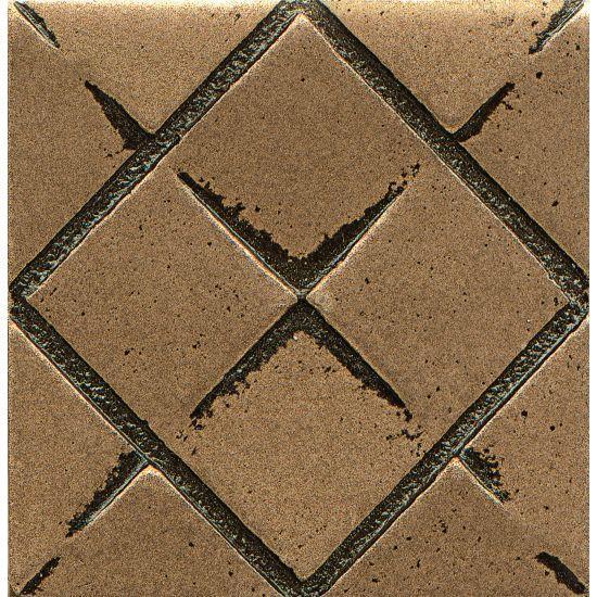 Ambiance Matrix City Bronze 2x2, Glossy, Resin, Trim