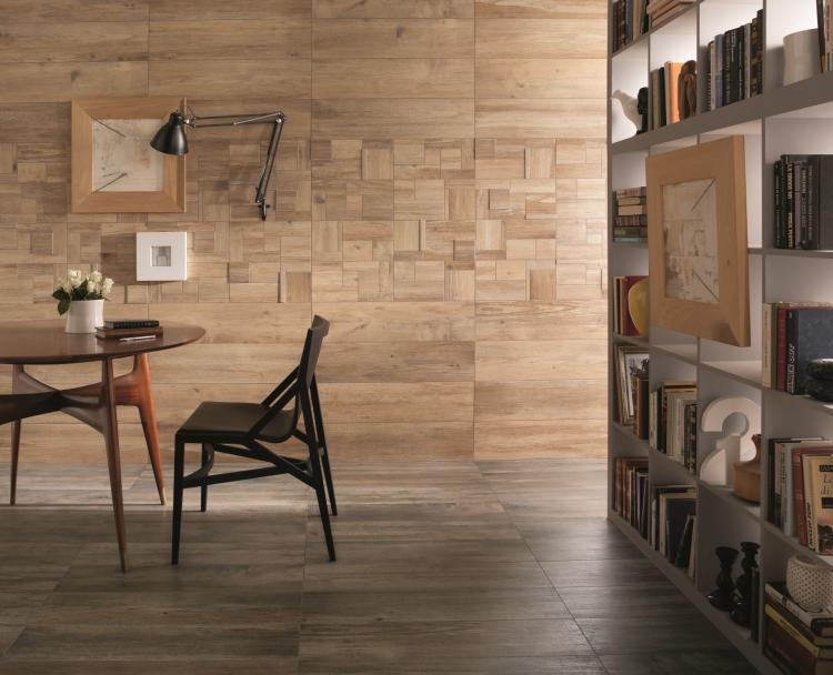 Elysium Tiles - Larix Sabbia Matte, Glazed 8x68 Porcelain  Tile