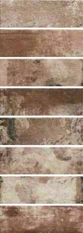 Cantina Ca 6 Rosso Matte, Glazed 4x12 Porcelain  Tile
