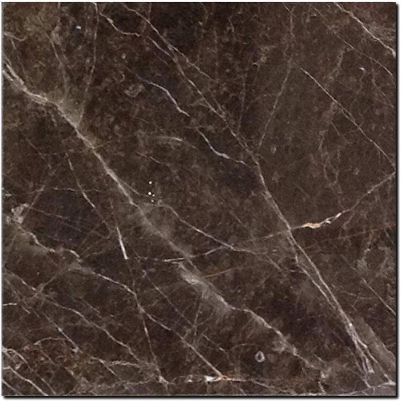 St Laurent Brown Marble Tile 12x12 Polished