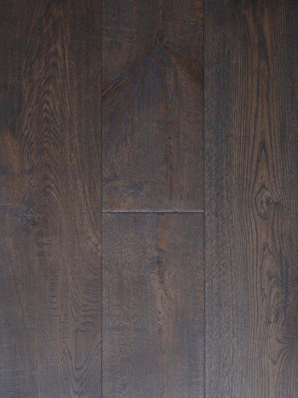 Laguna Oak Collection Almond 90 in, Wire-Brushed, Dark Brown, Engineered-Wood, Trim