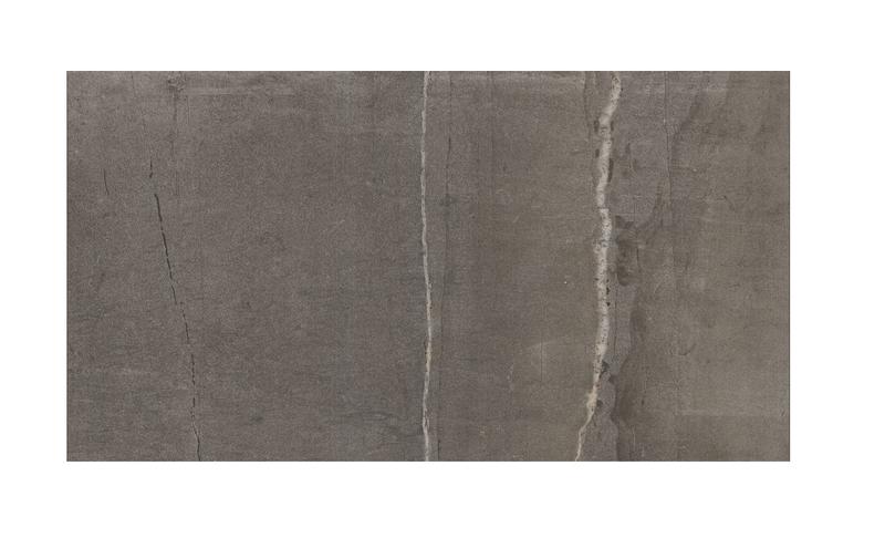 Marca Corona Stone One Dark Matte 18x36 Porcelain  Tile