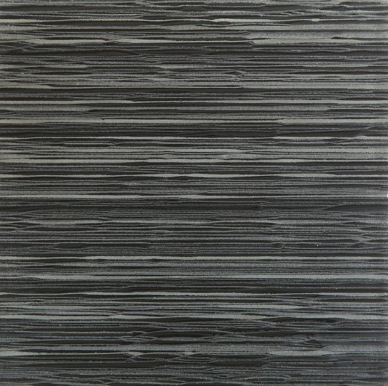 Ice Stream Black Glossy 12x12 Glass  Tile