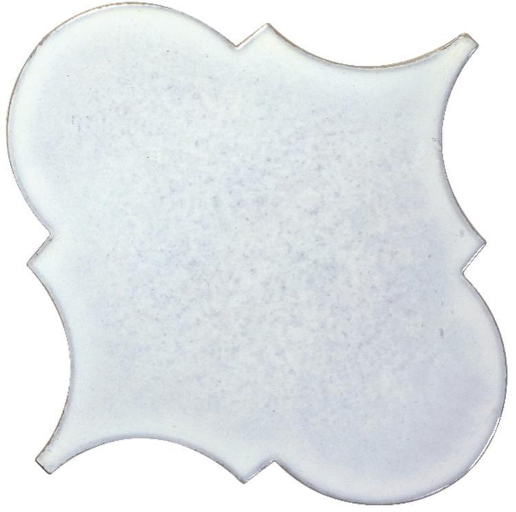 Calabash White Large Arabesque  Porcelain  Mosaic