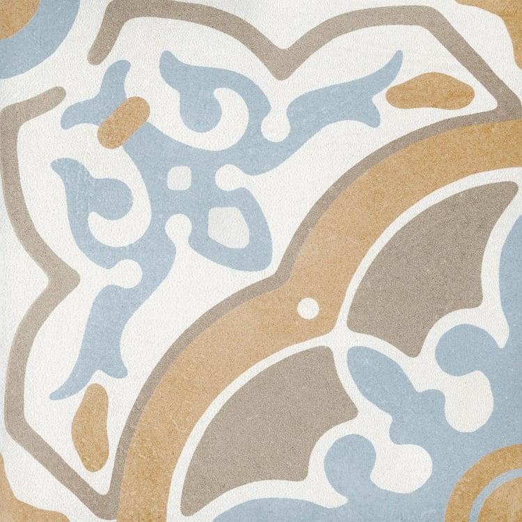 Reverie Décor 9 8x8, Glazed, Square, Through-Body-Porcelain, Tile