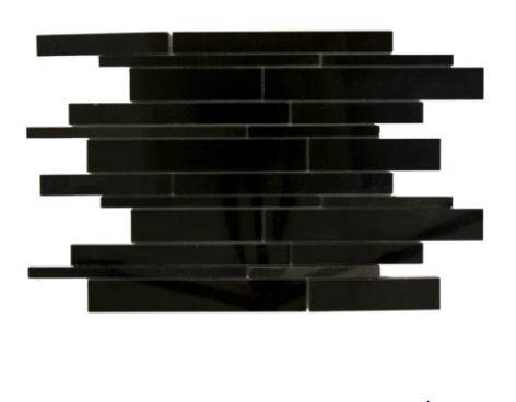 Granite Absolute Black Random Polished   Mosaic (Discontinued)