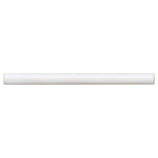 Reine White Matte 0.5x8 Ceramic Jolly