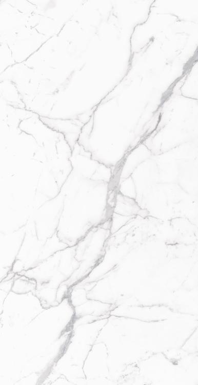 Carrara Premium Polished, Glazed 18x36 Porcelain  Tile