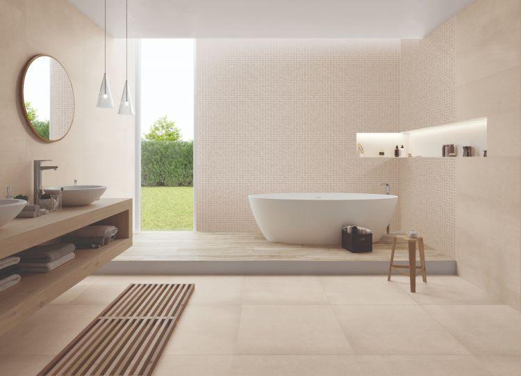 Elevation Sand Matte, Glazed 24x24 Porcelain  Tile