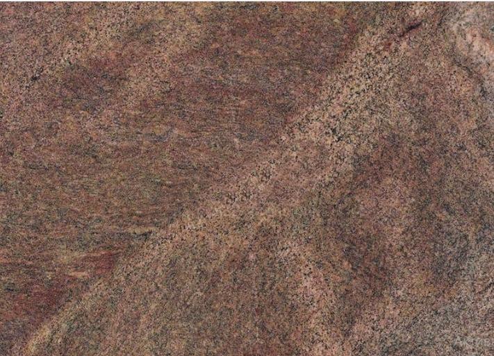 Granite Prefab African Bordeaux Light 26x96, 0.8 in, Polished, Gray, Orange, Brown