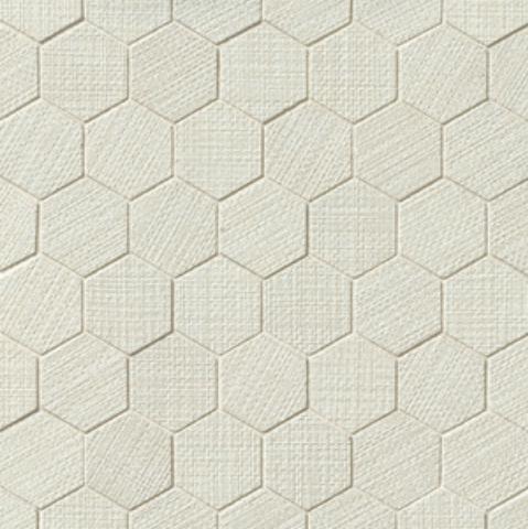 Dagny Fabrique White 2x2 Hexagon Matte Porcelain  Mosaic (Discontinued)