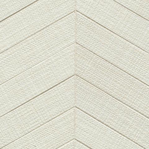 Dagny Fabrique White 2x6 Chevron Matte Porcelain  Mosaic (Discontinued)