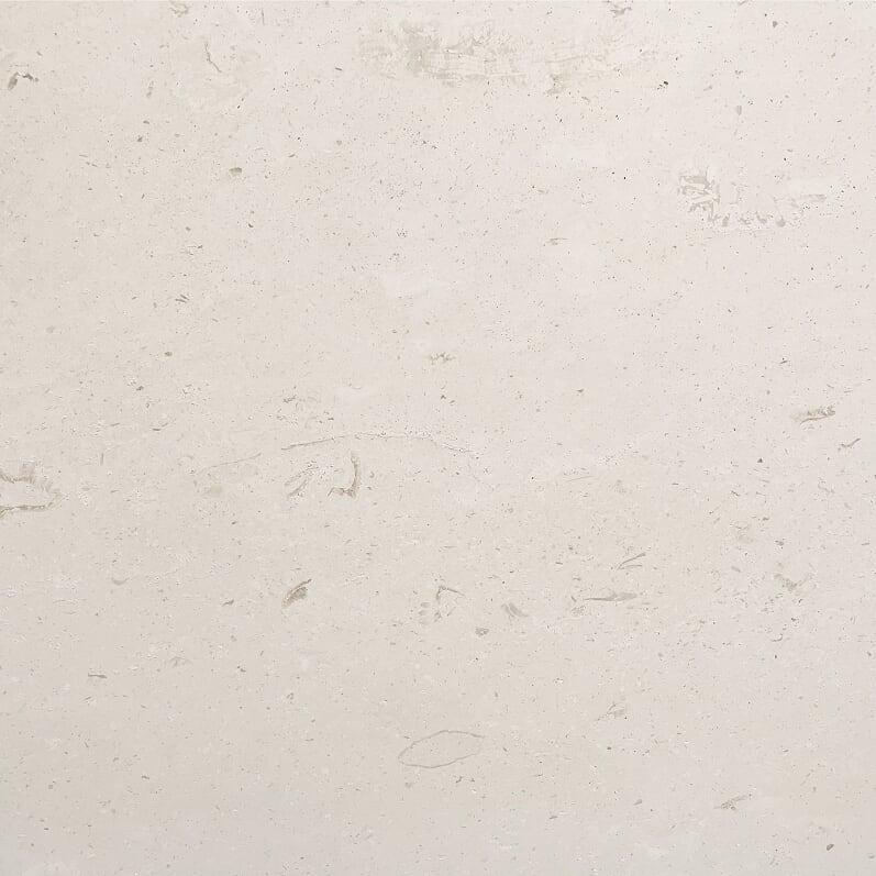 Lycian White Limestone Tile 6x6 Honed