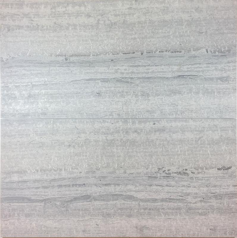 Wooden Blue Limestone Tile 18x24 Honed   0.38 in