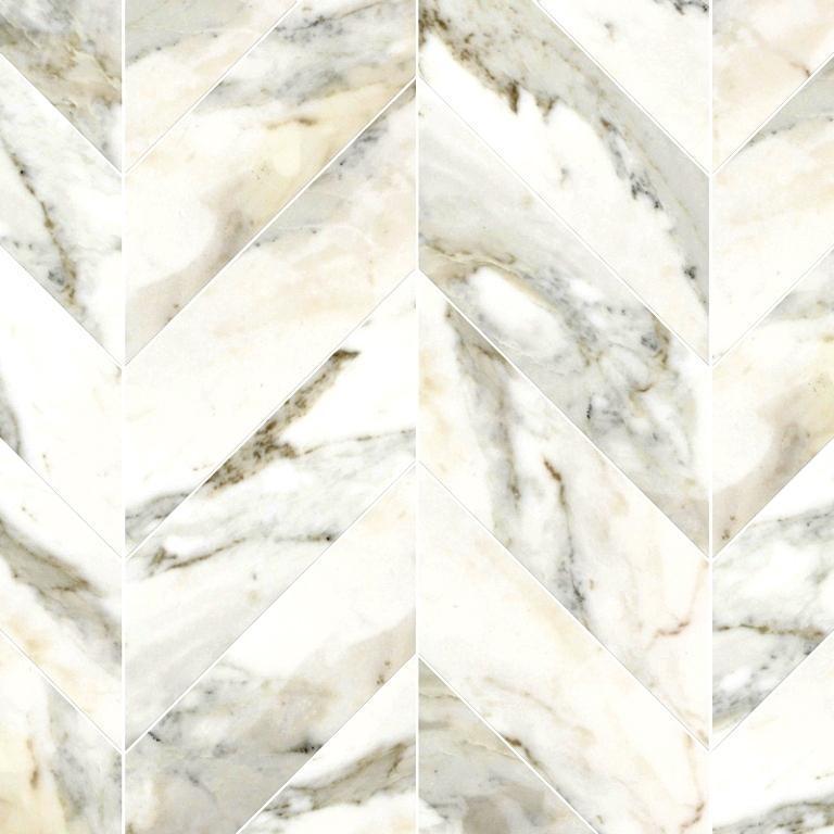 Kalta Bianco White Marble Tile 3x9 Polished