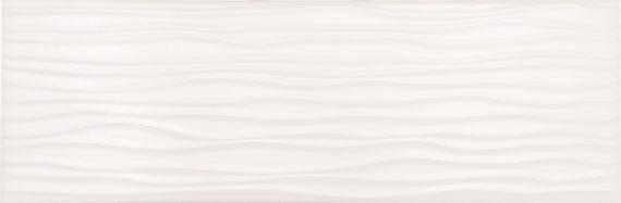 Urban Canvas Group 1 Designer White 4x12, Glazed, Rectangle, Ceramic, Tile