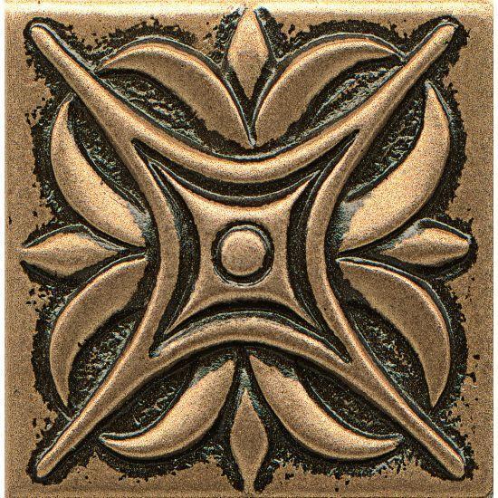 Ambiance Rising Star Bronze Glossy 2x2 Resin  Trim