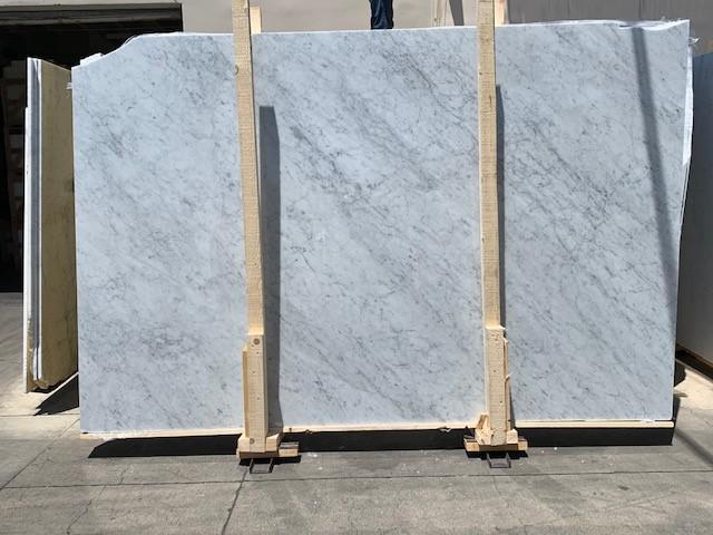Marble Slabs White Carrara Extra 0.79 in Polished  Slab