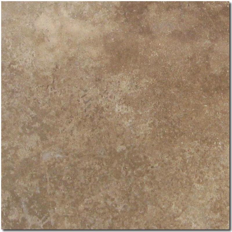 Noce Travertine Tile 18x18 Honed, Filled