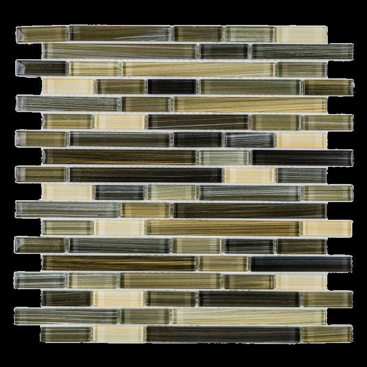 Venice Rain Vinter Offset  Glass  Mosaic