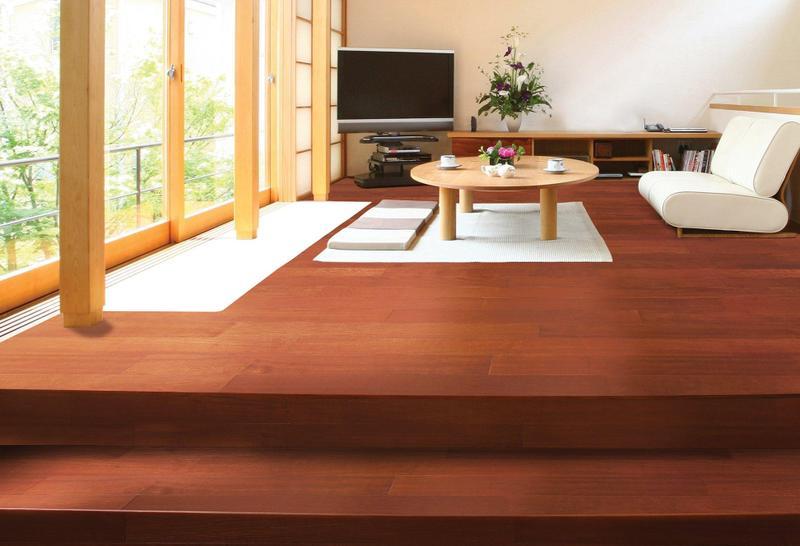 Solid Selection Santos Mahogany 4.75xfree length, Smooth, Brown, Balsamo, Engineered-Wood