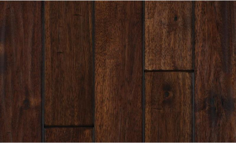 Solid Selection Exotic Walnut 90 in, Hand-Scraped, Dark Brown, Acacia, Engineered-Wood, Trim