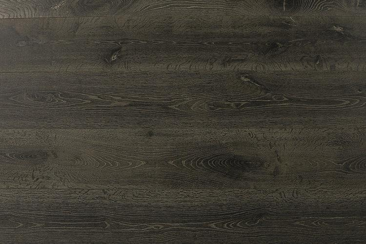 Bonafide Belhaven 9.5xfree length, Wire-Brushed, Gray, European-White-Oak, Engineered-Hardwood, Wood