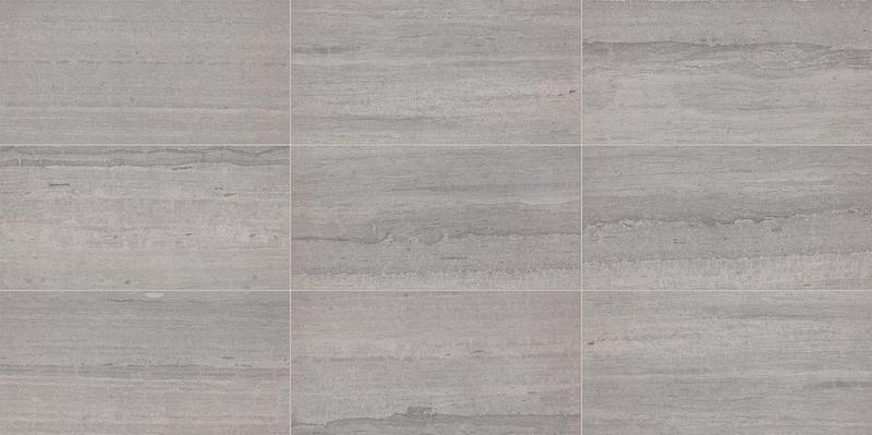 Fonte Heather Harbor Port Gris 3x9, Honed, Gray, Rectangle, Natural-Stone, Tile