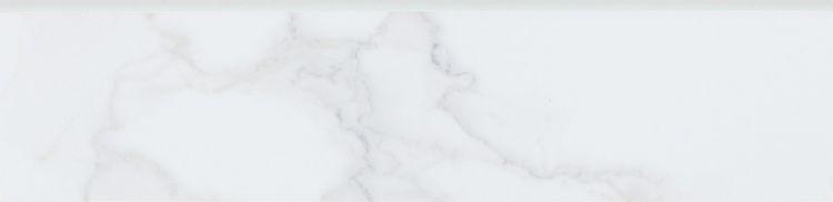 Calacatta Dorado Matte, Glazed 3x12 Porcelain Bullnose