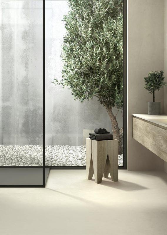 Group 1 Natural Tiles Sasea Suggested Size 28x62, Smooth-Matte, Greige, Porcelain, Tile
