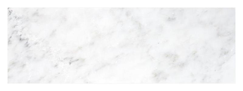 Oriental White Marble Tile 4x12 Polished