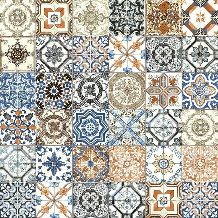Marrakesh Color 8x8, Glossy, Square, Ceramic, Tile